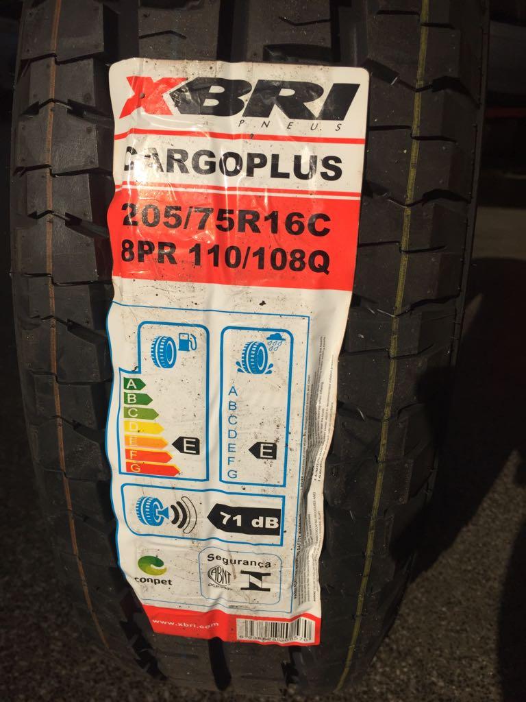 Pneu 205/75R16 XBri Cargo Plus 110/108Q  (Jumper,Ducato, Iveco, Boxer, Master, Minibus)