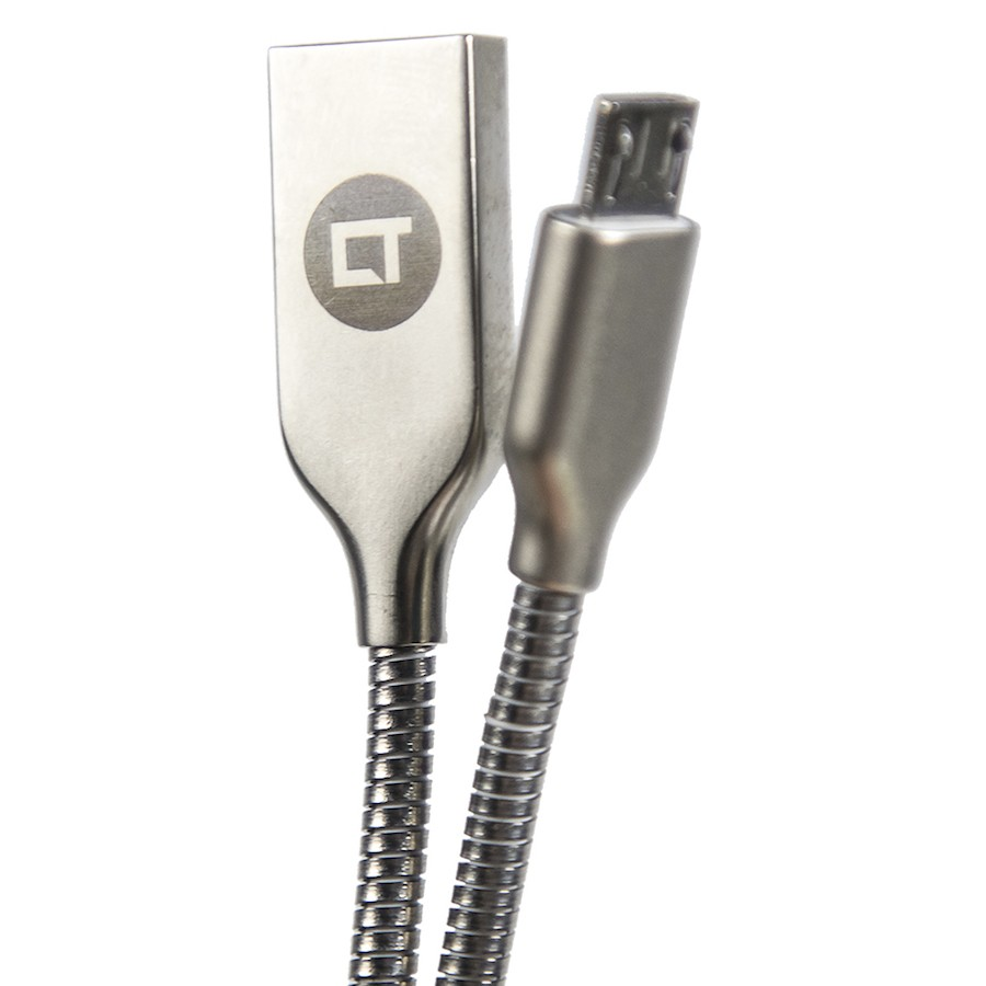 Cabo Canaltech USB Micro-USB PRO Metálico 1m
