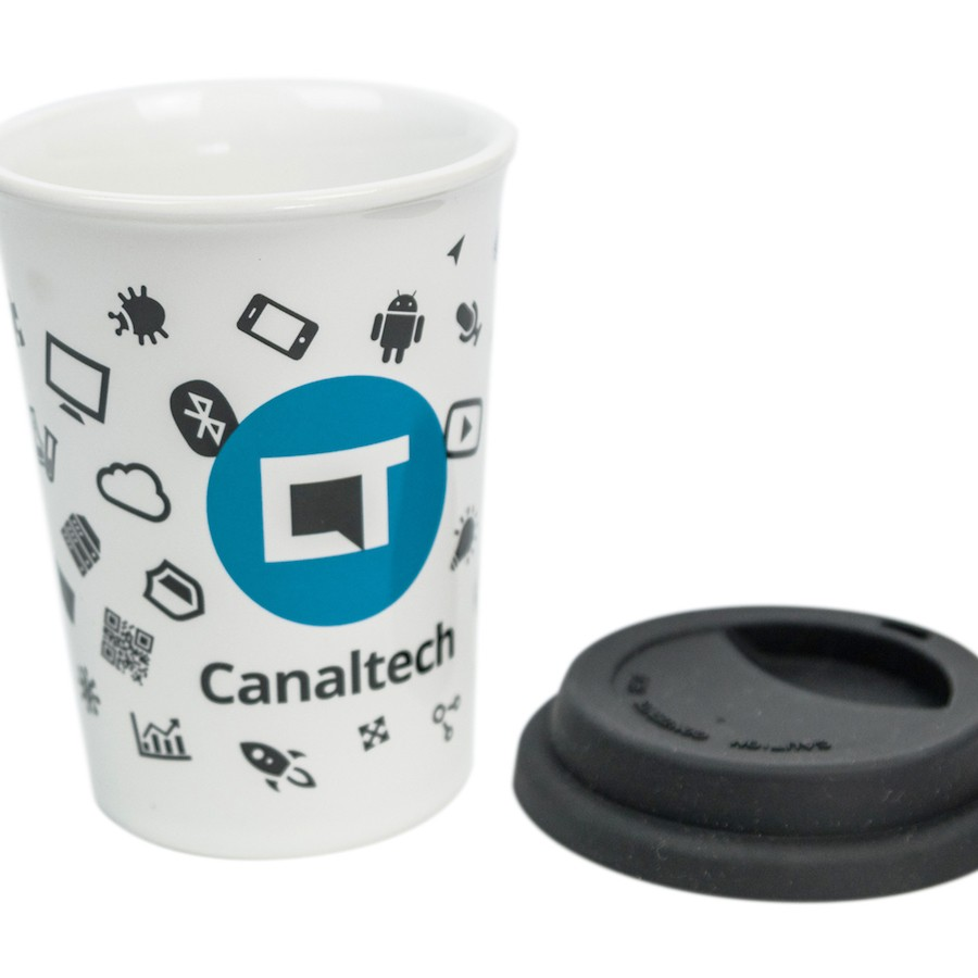 Caneca Canaltech Branca 300ml