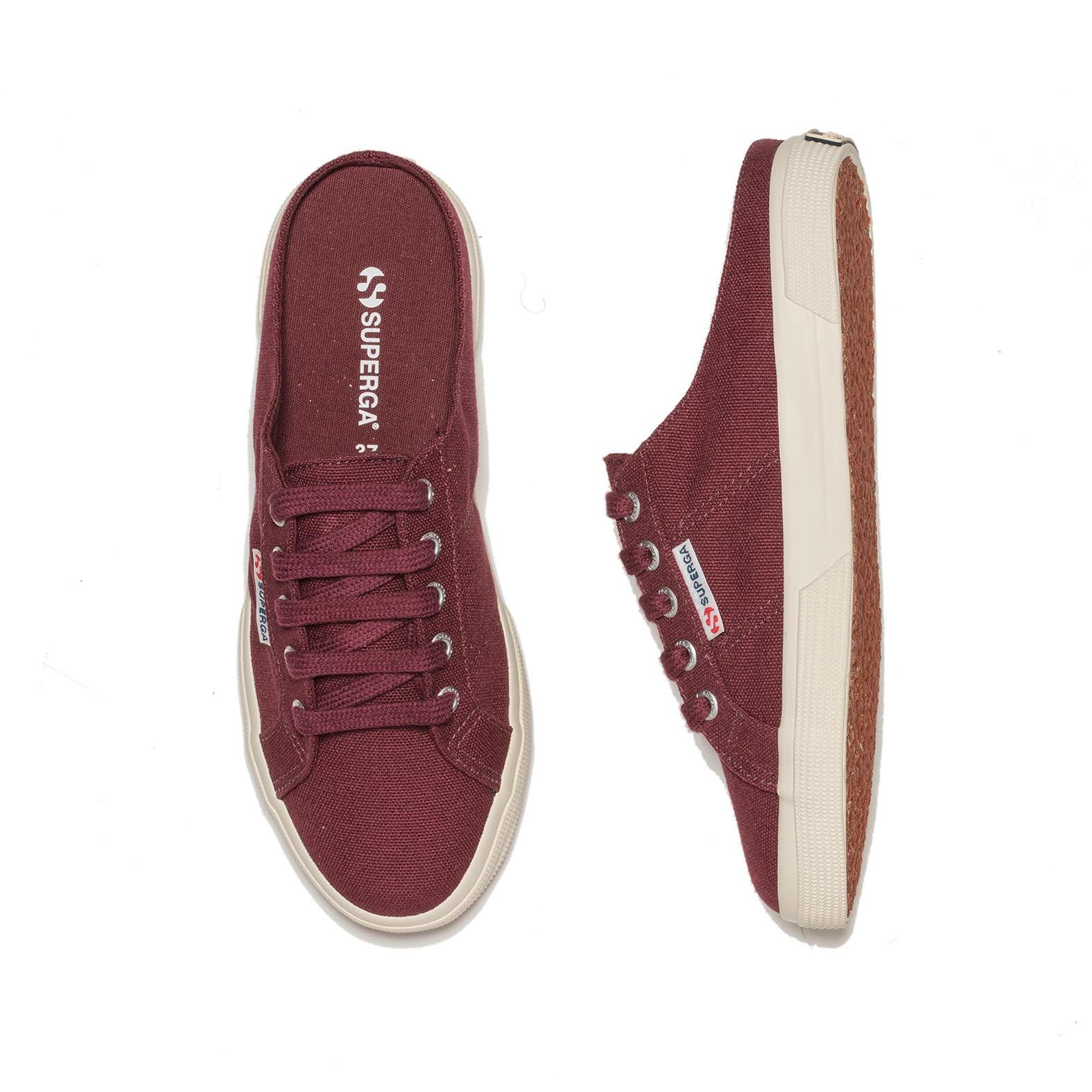 2288 BABUCHE CANVAS MARSALA
