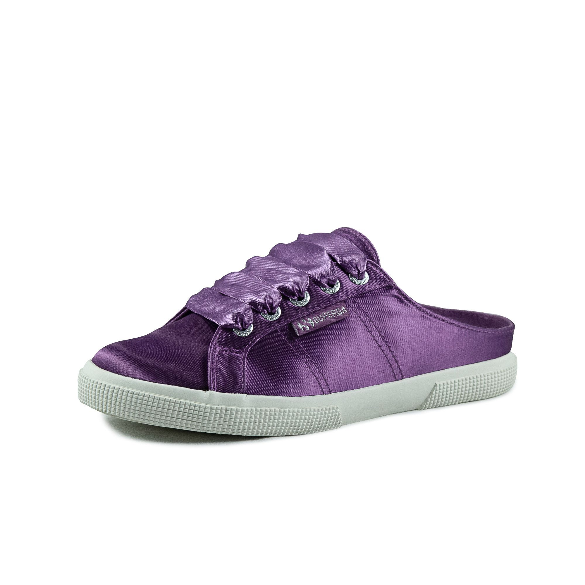 2288 BABUCHE SATINW VIOLET PURPLE