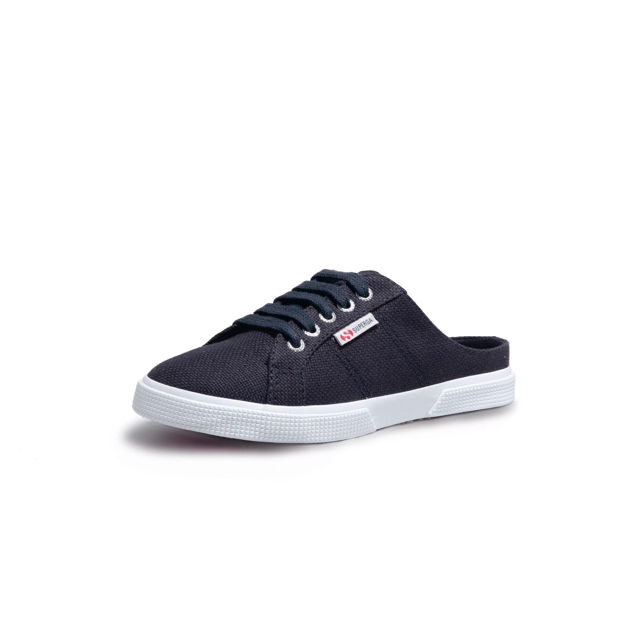 2402 BABUCHE CANVAS KIDS NAVY