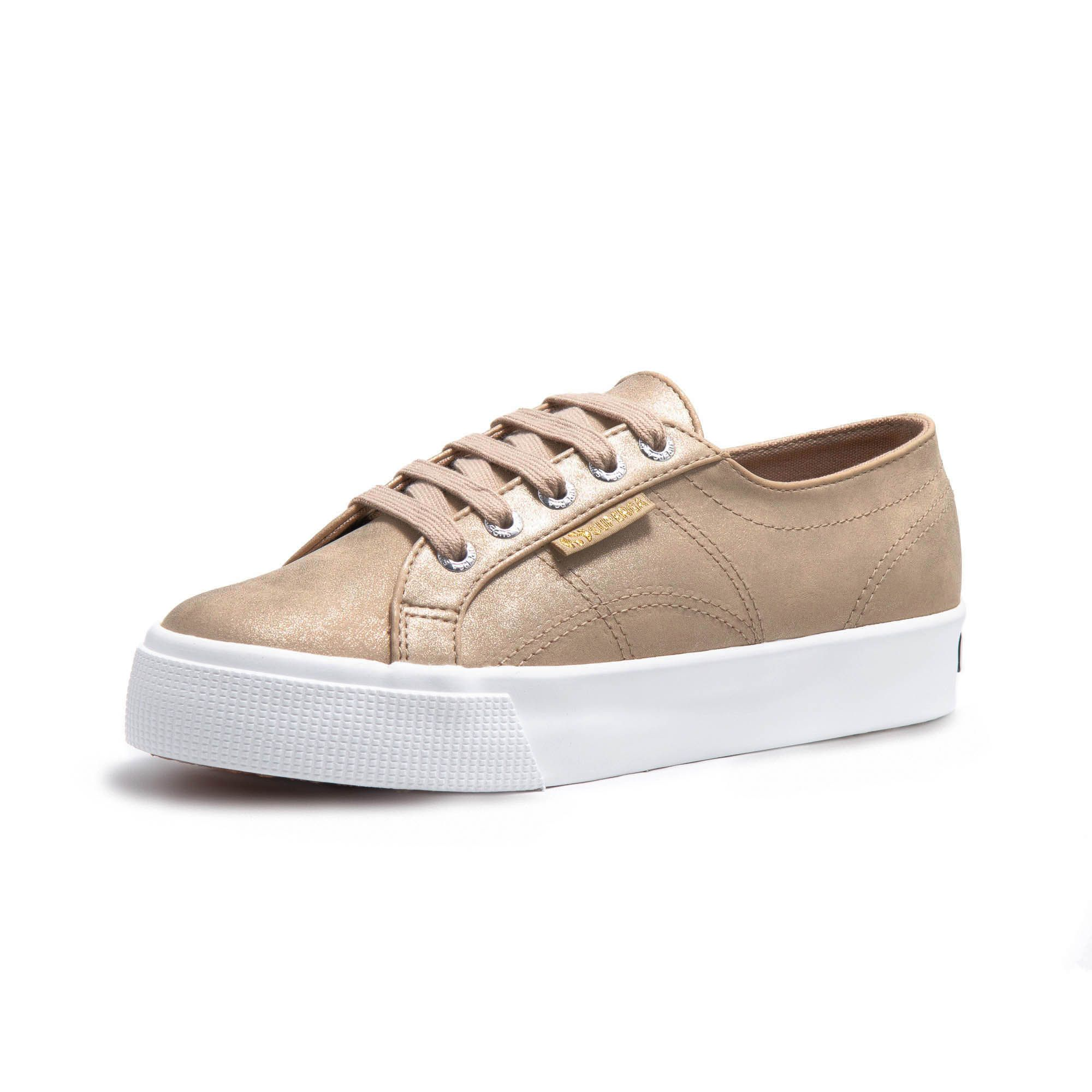 2730 FROSTEDSYNTSUEW TAUPE-GOLD