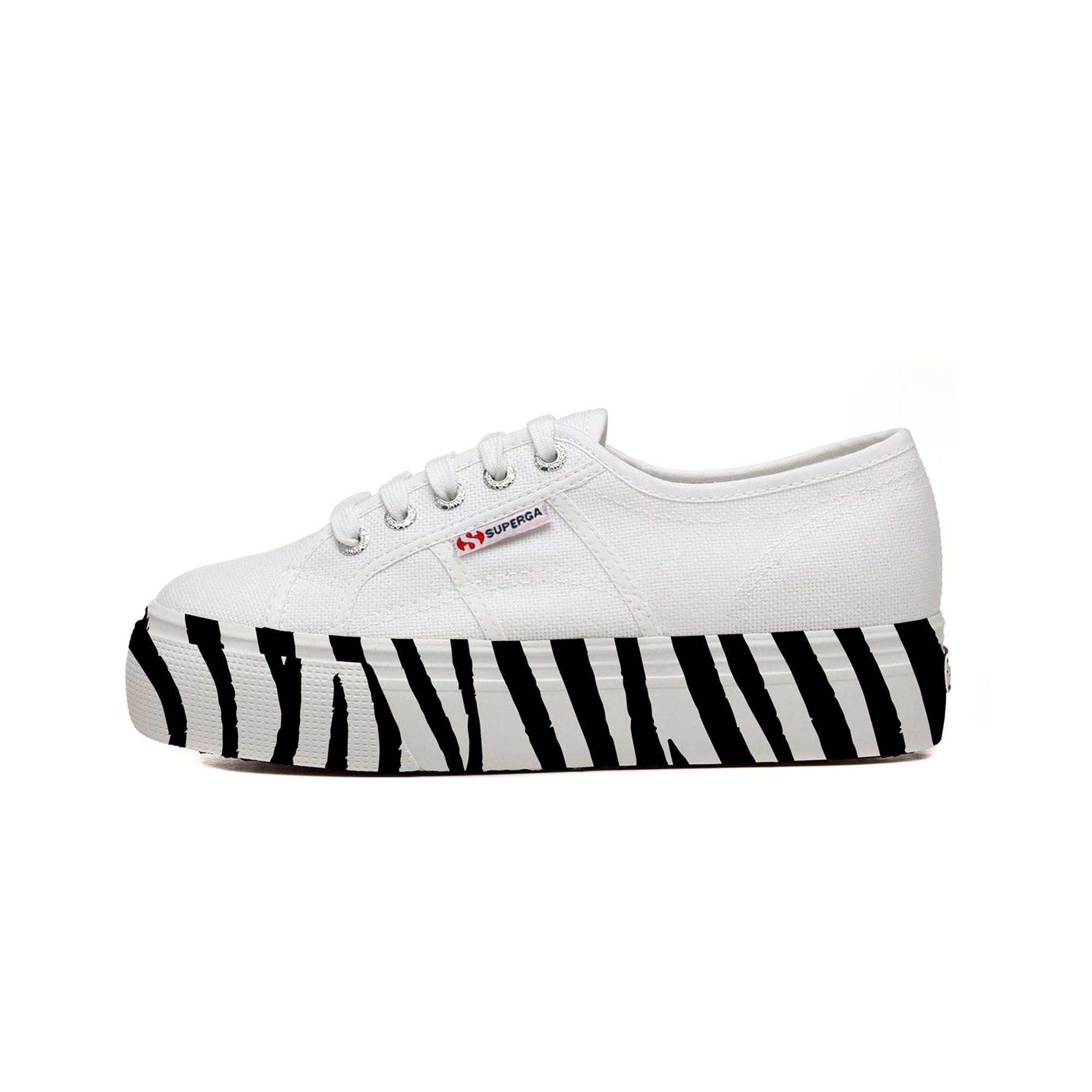 2790-COTW PRINTEDFOXING - White-Zebra