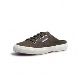 2288 NEW BABUCHE CANVAS BROWN MILITARY