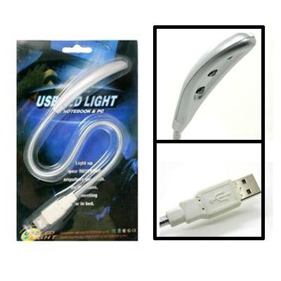 Luminária Flexível USB c/ 3 Led