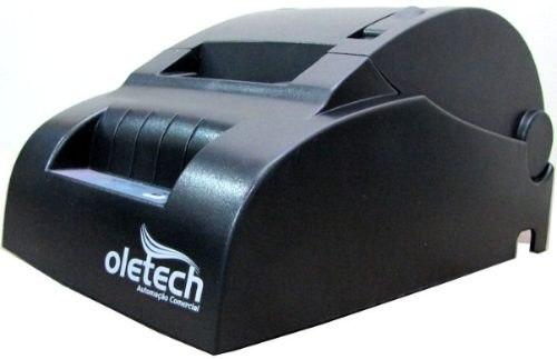 Impressora Térmica SERIAL 57/58mm Oletech Não-Fiscal OT100