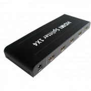 Distribuidor Splitter HDMI 1 x 4 portas Full HD