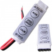 Mini Controlador Dimmer 12V para Fita de Led RGBW