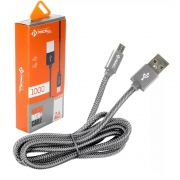 CABO DADOS MICRO USB 2M - PMCELL CROMO889 CB-21-2M