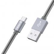 CABO MICRO USB MOLA 1M - PMCELL CROMO887 CB-22