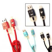 Cabo USB Iphone com Led