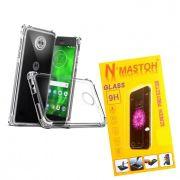 Capinha Anti Shock + Película Vidro Motorola G6 Plus