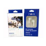 Fone Ouvido Intra-auricular c/ Microfone Inova FON-2131D