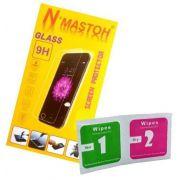 Kit 100 películas de vidro + 100 flanelas de limpeza e aplicação