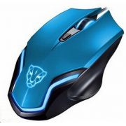 Mouse Laser Gamer Usb RGB Ergonômico 6D F61 Blue Oletech