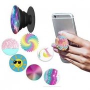 Suporte PopSocket Celular Fashion Phone - Cores e estampas Sortidas