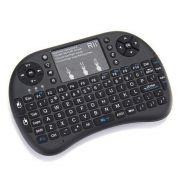 Teclado Controle Wireless Mouse Smart Tv Pc Android Tv Box