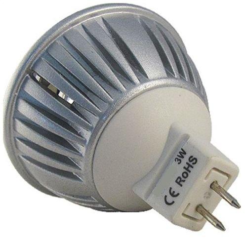 Lâmpada Led 3w Branco Quente MR16 GU5.3 Bi-volt