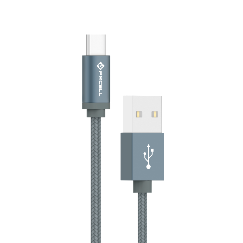CABO DADOS USB TIPO C 2M - PMCELL CROMO879 CB-21-2M