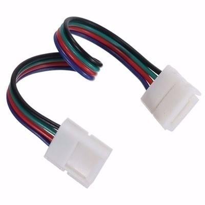 Cabo Emenda para fita de LED RGB 5050 ou 3528