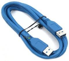 Cabo USB 3.0 AM x AM 1m