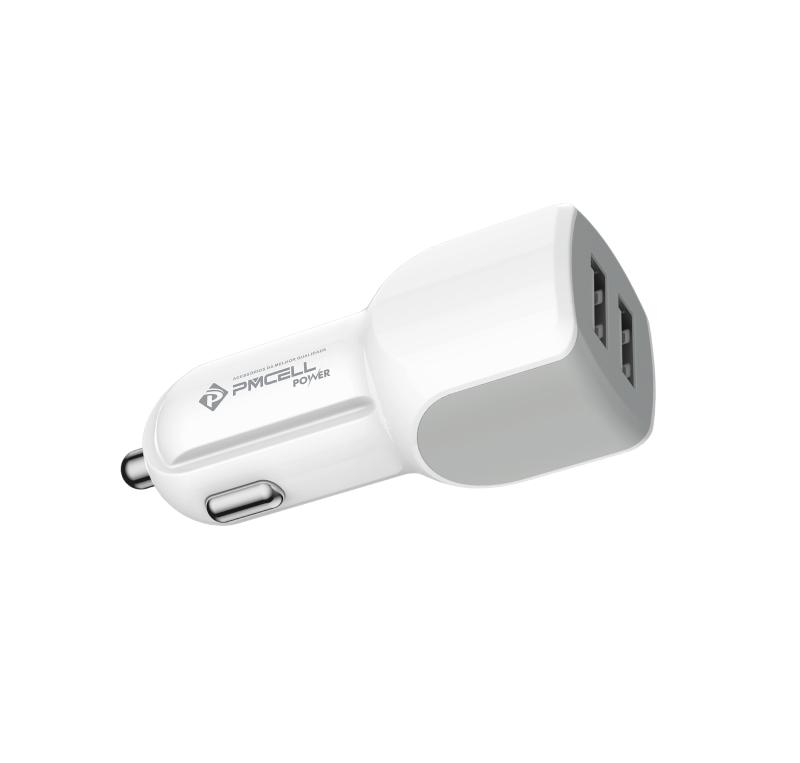 CARREGADOR VEICULAR 2x USB PMCELL POWER778 CV-21