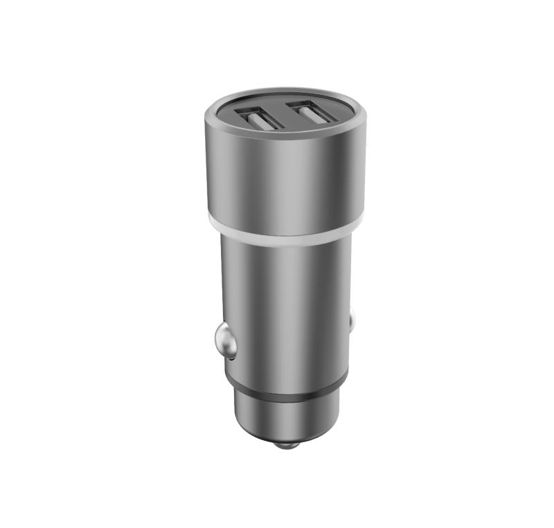 CARREGADOR VEICULAR 3.6A 2x USB PMCELL TURBO740 CV-32