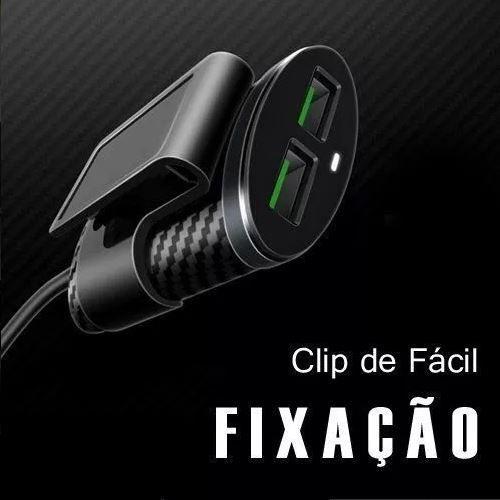 CARREGADOR VEICULAR EXTENSOR 5.1A 4x USB UBER TAXI PMCELL MAXX CV-42