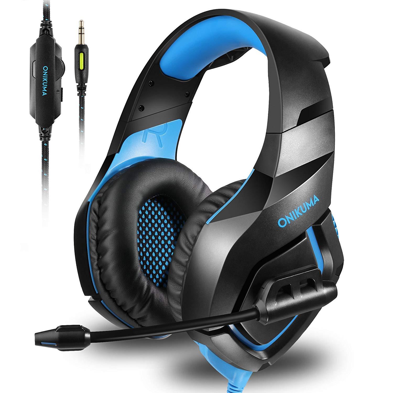 Fone Ouvido Headset Gamer K1B Blue
