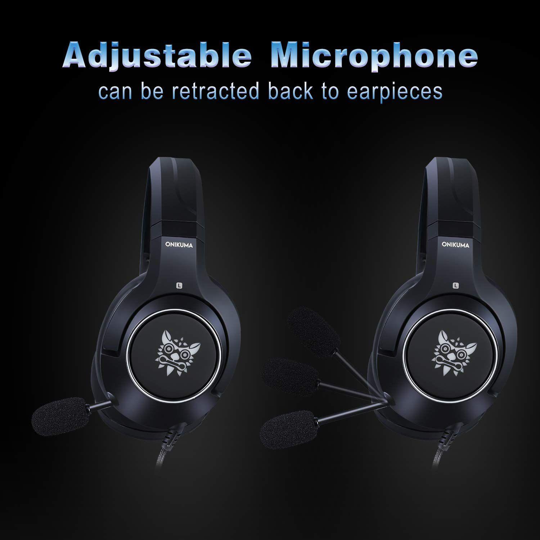 Fone Ouvido Headset Gamer K9 Microfone Retrátil Onikuma