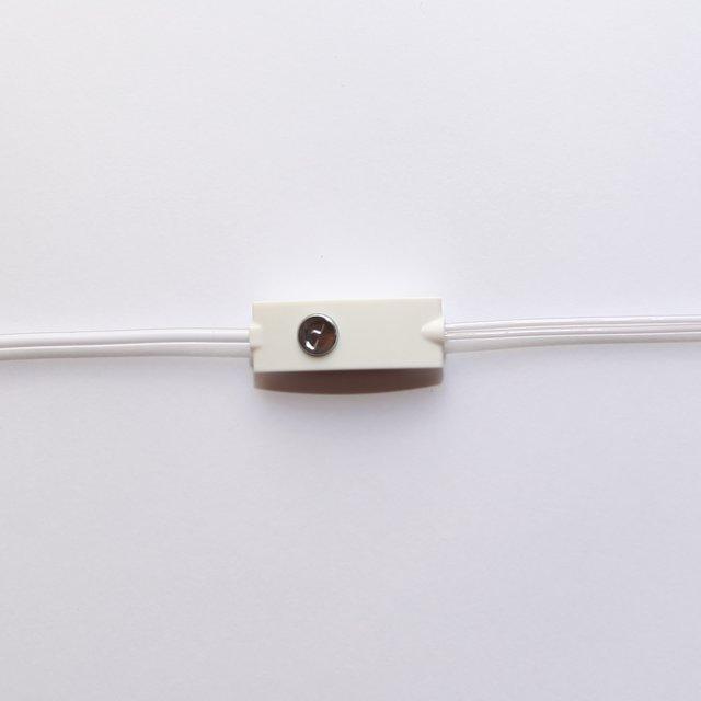 Fone Ouvido Intra-auricular c/ Microfone IP11 Branco