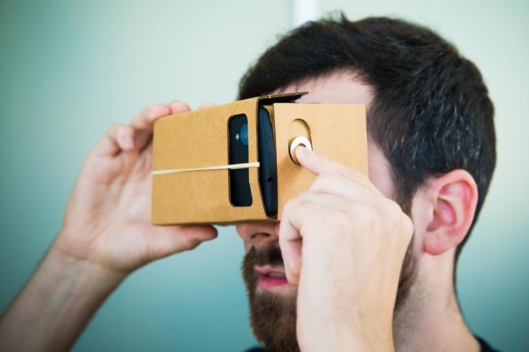 Google Cardboard - Óculos de Realidade Virtual 3D c/ Estampa