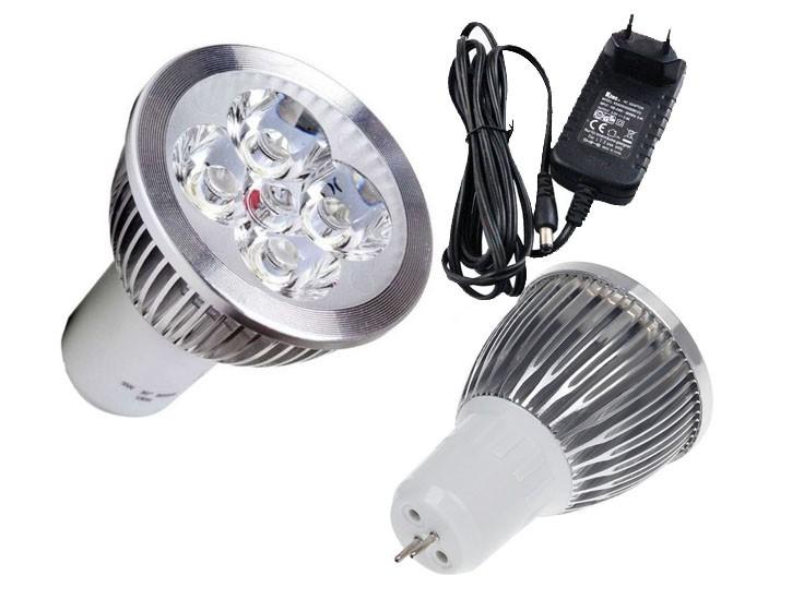 Kit lâmpada led 5w + fonte 12V dimerizável