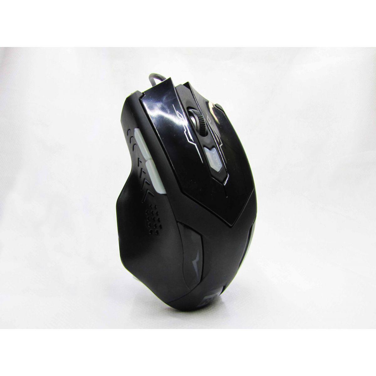 Mouse Gamer Optico 6D 2400PI LED R8