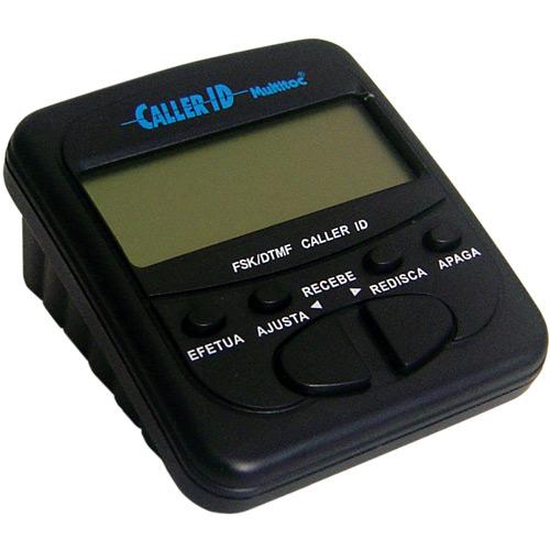 Multitoc Identificador de Chamadas Preto