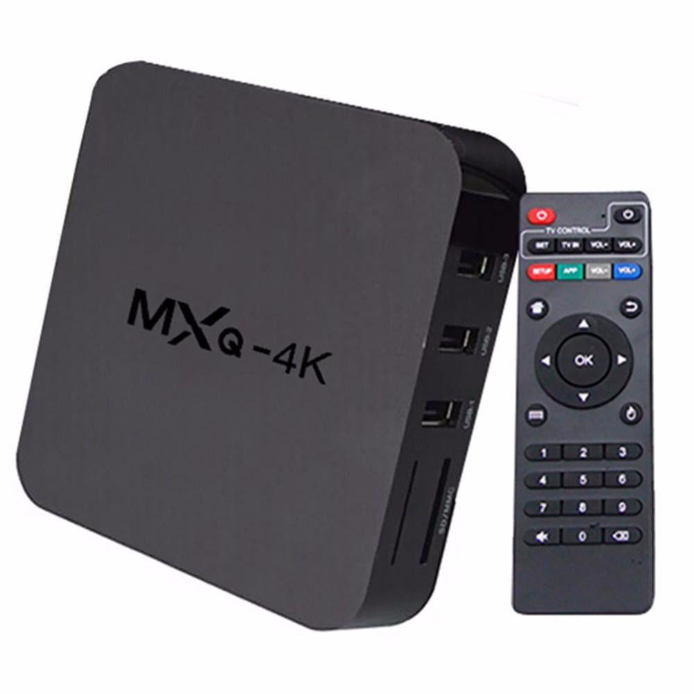 TV Box MXQ 4K 2GB Android c/ Controle
