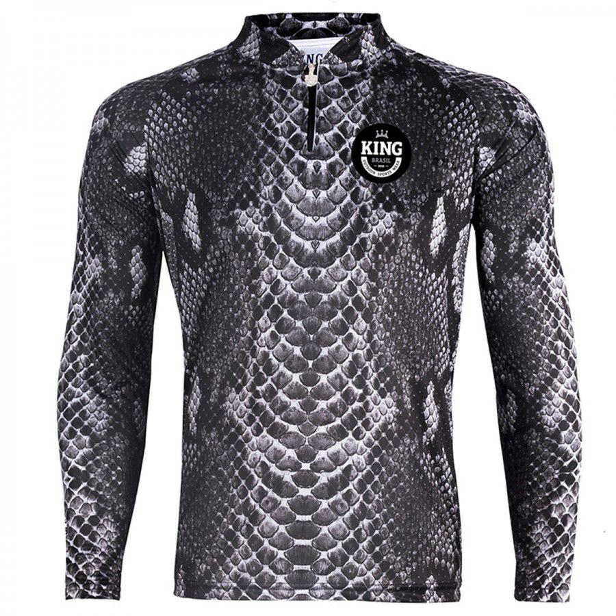 2b0a84ab3 Camiseta De Pesca King Proteção Solar Uv Viking 17 - Pele Cobra - LIFE  PESCA - Sua Loja de ...