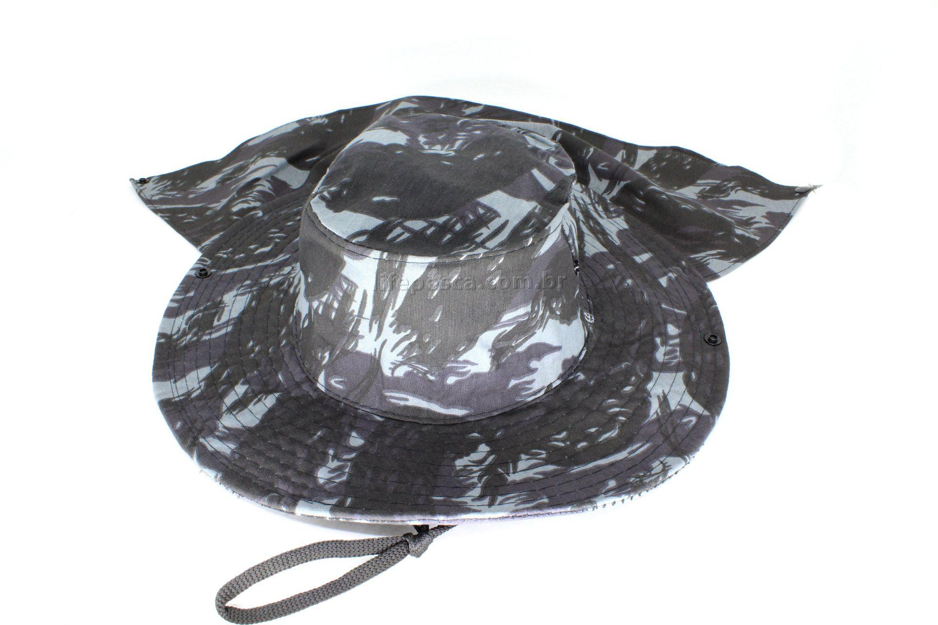 9f72af607959e Chapéu Pescador C  Protetor De Nuca - Várias Cores - LIFE PESCA - Sua Loja  de Pesca