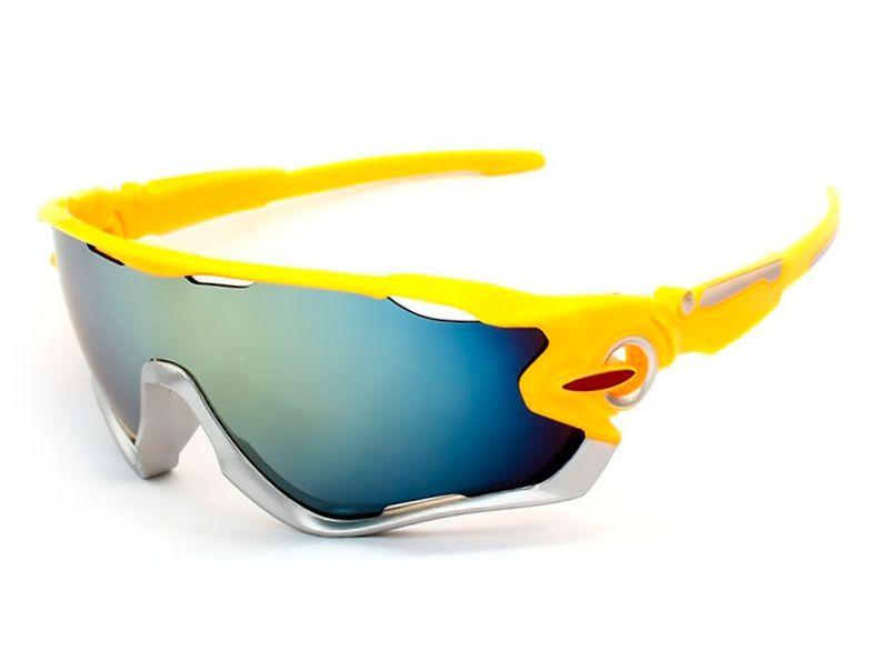a142d2bc1 Óculos De Sol Esportivo UV 400 Ciclismo Corrida Vôlei - Várias Cores