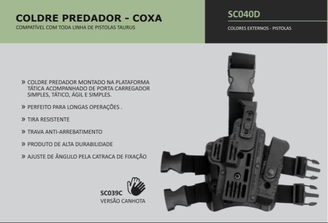 COLDRE PREDADOR COXA SC040D