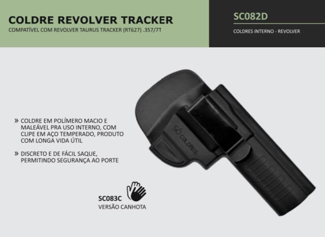 COLDRE VELADO REVOLVER TRACKER SC082D