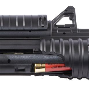 Rifle de Airsoft M4A1 M813 AEG com Lançador Shotgun 6mm