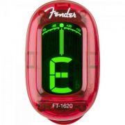 Afinador Cromático California Series Ft-1620 Vermelho Fender