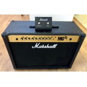 Amplificador Marshall MG100FX com Footswitch - Produto Original Seminovo