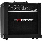 Amplificador Para Guitarra 15w 6 Pol Strike Bivolt G30 Borne