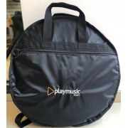 Bag  Luxo para transporte de pratos Playmusic Store.