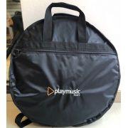 Bag  Luxo para transporte de pratos Playmusic Store.