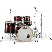 Bateria Pearl Decade Maple High Gloss Deep Red Burst 22,10,12,14,16 polegadas