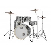 "Bateria Pearl Export Smoke Chrome  22""X18""; 10""X07""; 12""X08""; 16'X16""; 14""X5,5"""